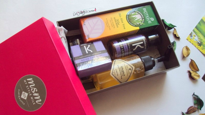 my style mile beauty box subscription india