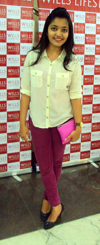 outfit of the day for wills lifestyle spring summer 2015 launch