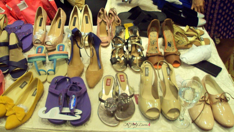 designer and brande shoes for women at elle carnival bangalore
