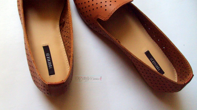 forever 21 shoes brown loafers