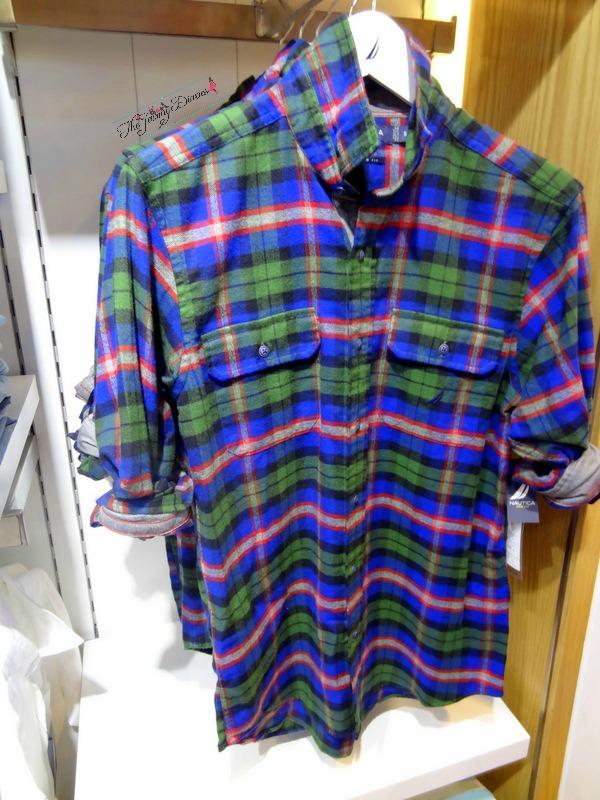 shirts for men nautica