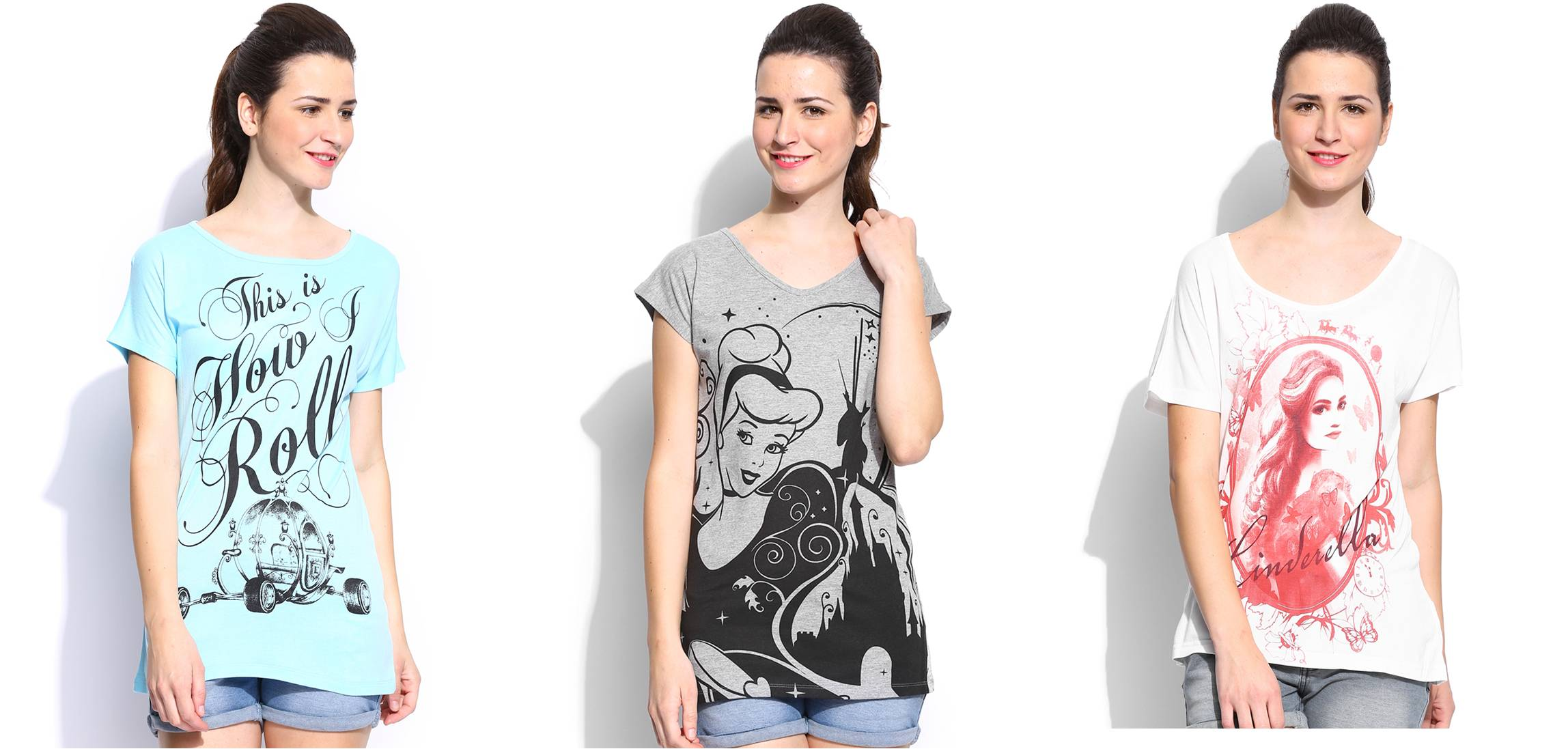 Cinderella Teeshirts Collection, Rs 599 onwards