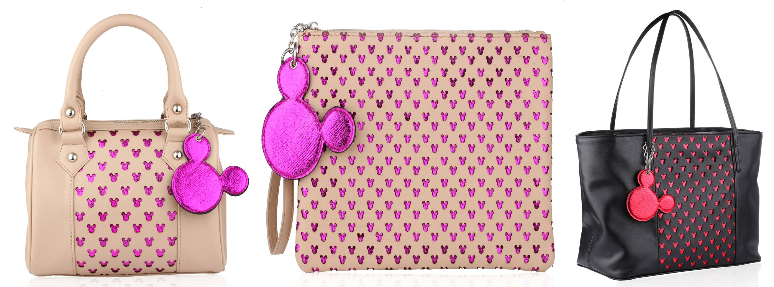 Disney Monopop by Satya Paul Iconic Mickey Bags Rs 2,995-3,995.