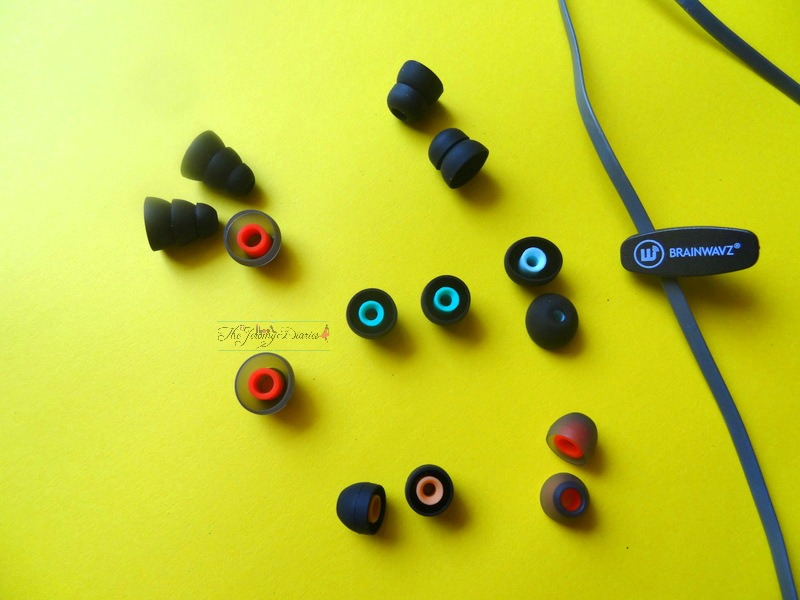 brainwavz s1 earphones silicon tips