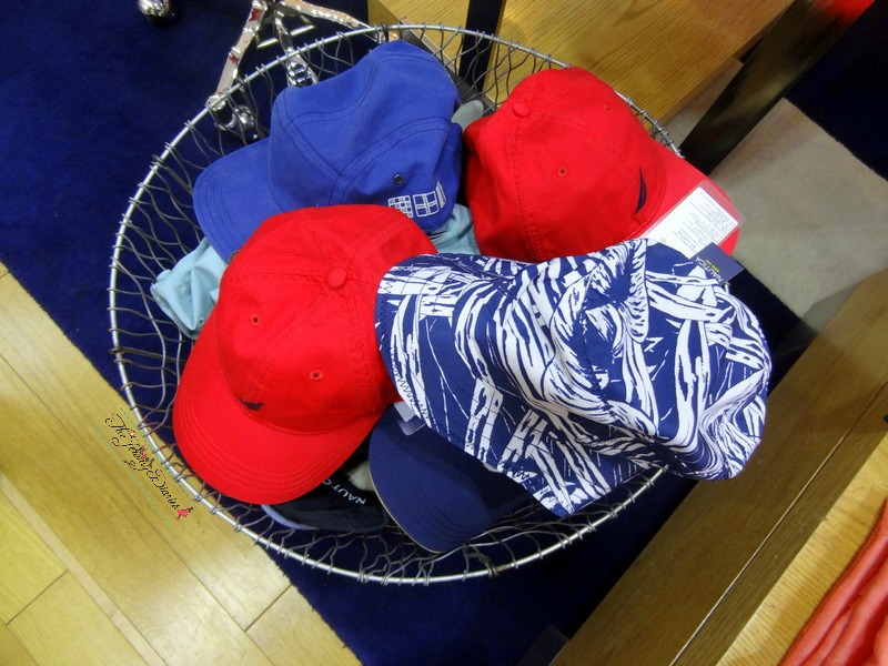 caps from nautica store