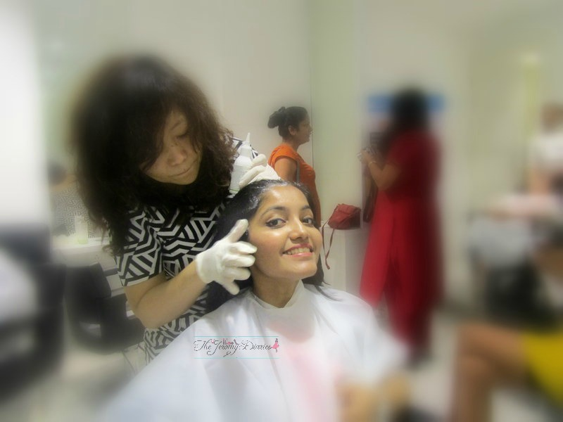 nioxin derma scalp facial the jeromy diaries princy mascarenhas
