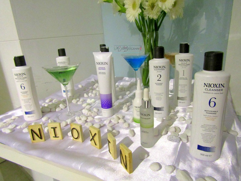 nioxin hair therapoy products