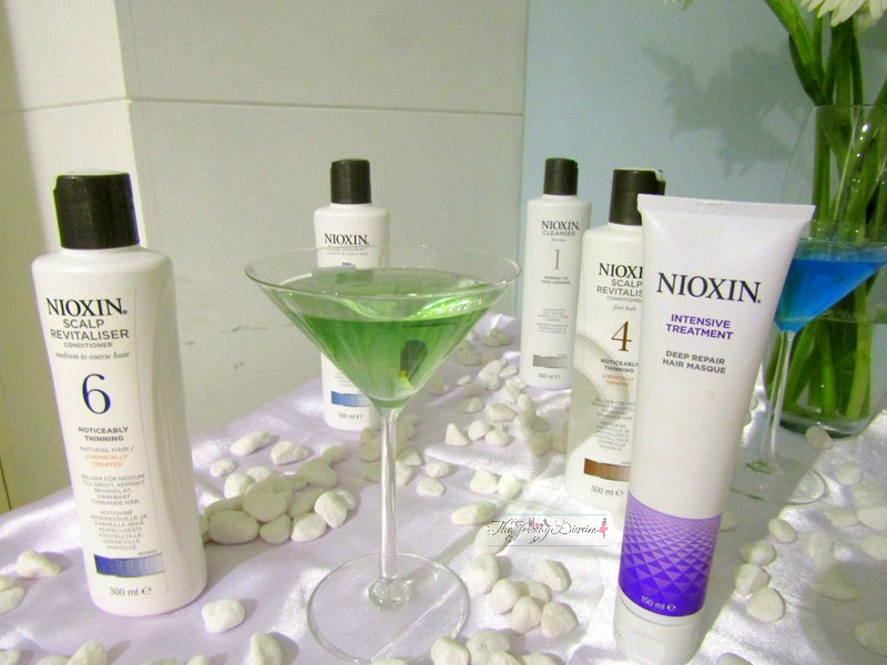 nioxin hair thinning solution brand