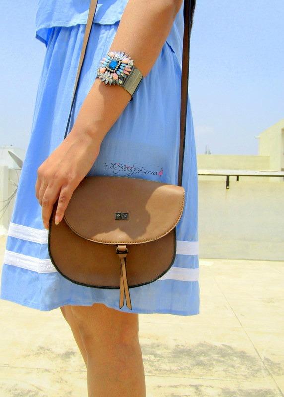 pastel blue uniform dress max fashions spring summer 2015