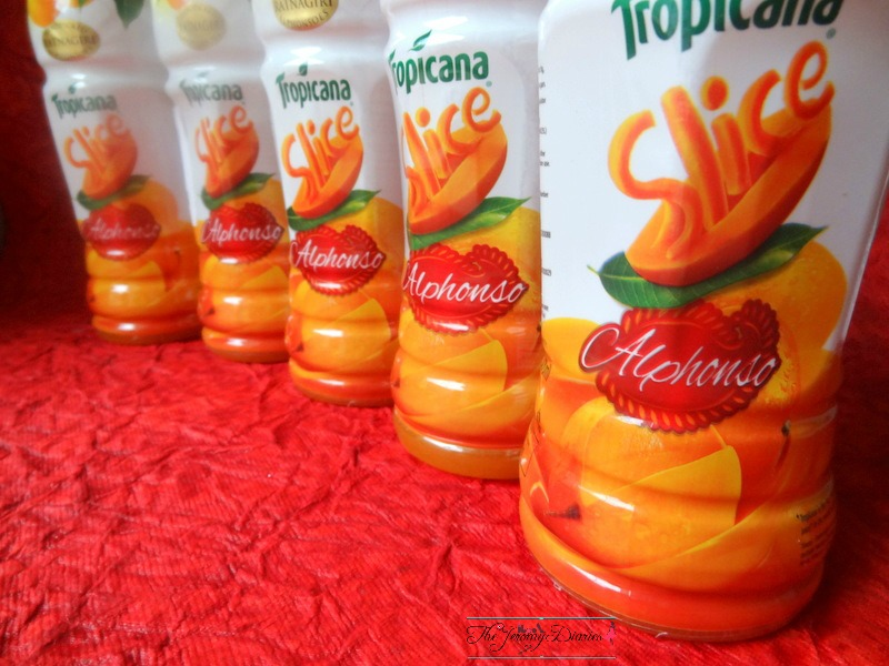 Slice Tropicana Alphonso Mango Drink Review