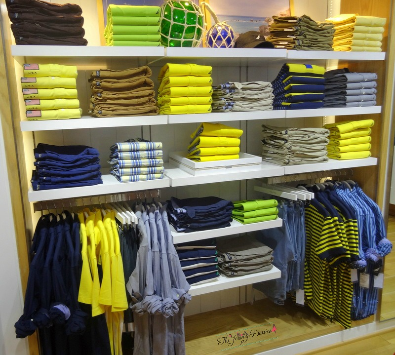 yellow lime shirts for men nautica