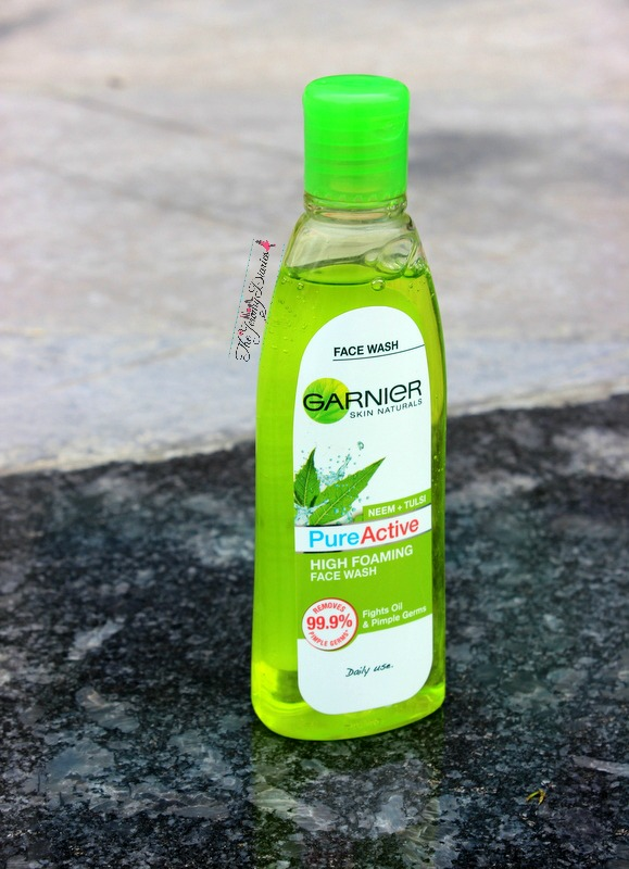 garnier pure active high foaming face wash the ejromy diaries review price and availability in india
