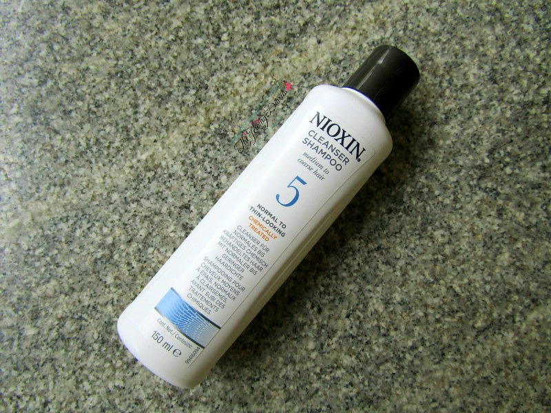 nioxin cleanser shampoo for normal to thin-looking hair review