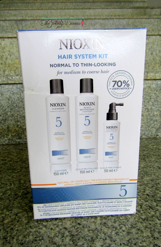 nioxin hair system kit 5