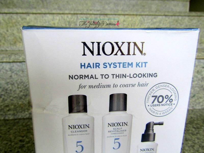 nioxin hair treatment for medium to coarse hair