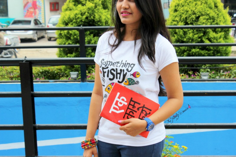 tathya something fishy tee for women