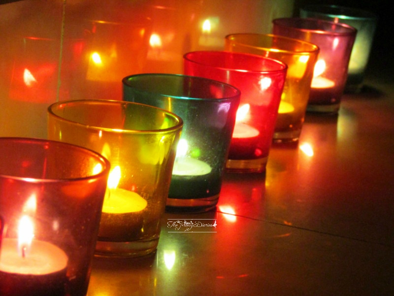 glossy votive set 8 pcs home decor products in india