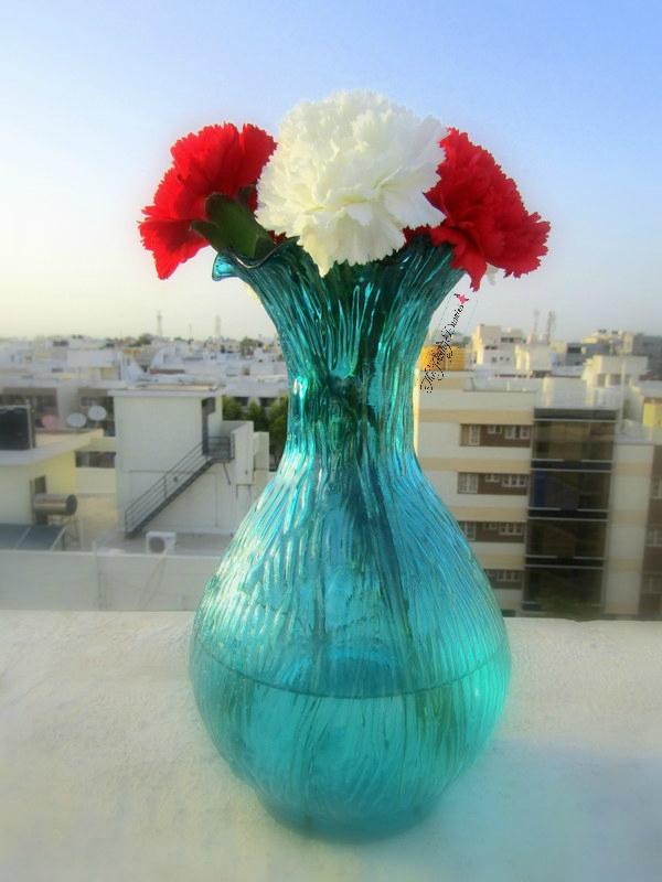 homesake website review luster ribbed flower vase