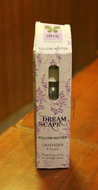 iris dream scape pillow mister review lavender and fennel