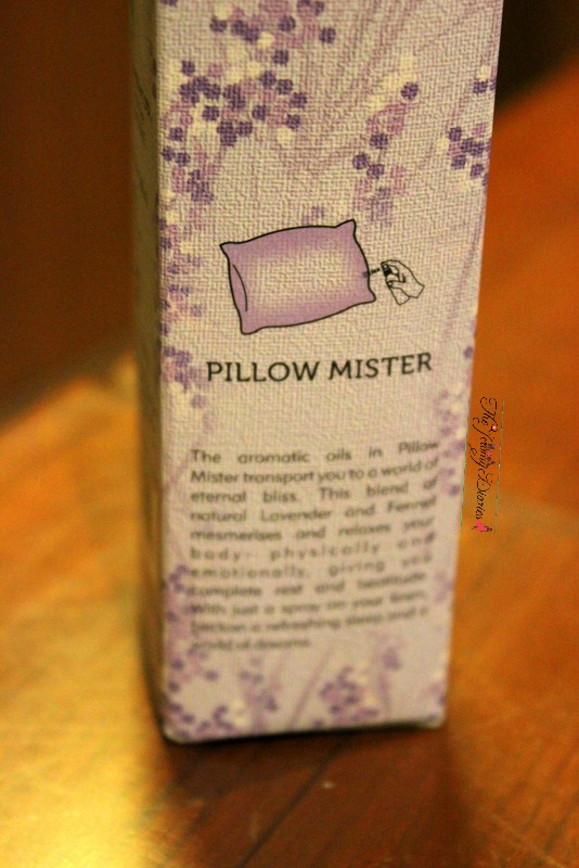 pillow mister iris fragrances