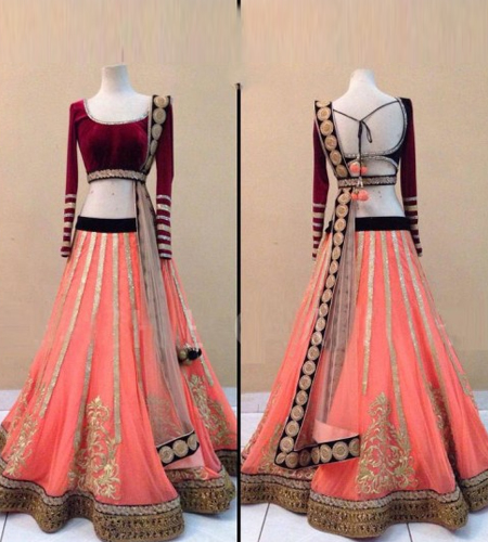 ba7881be8c Contemporary style Lehengas to rock this wedding season - The Jeromy ...