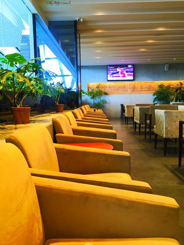 above ground level lounge international terminal