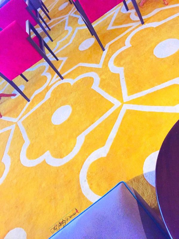 carpet at above ground level lounge international terminal