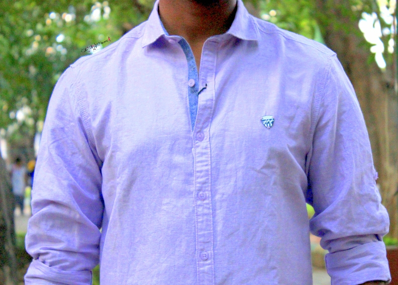 purple shirts from john players