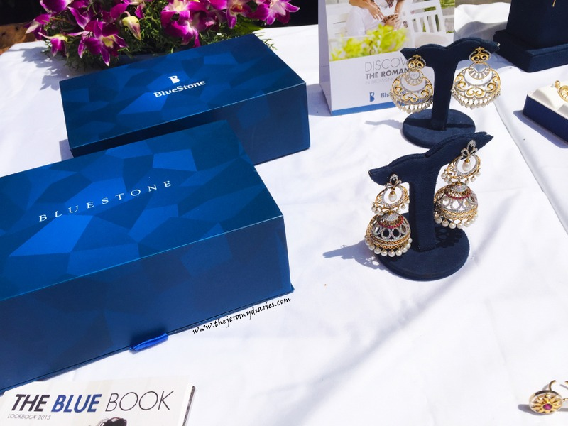 bluestone blue book launch in bangalore jhumkas