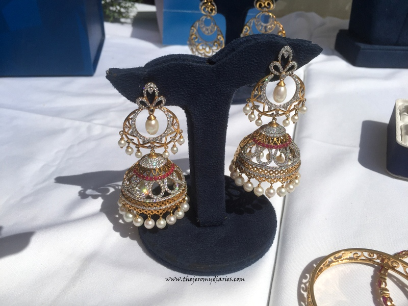 bluestone jewellery jhumkas