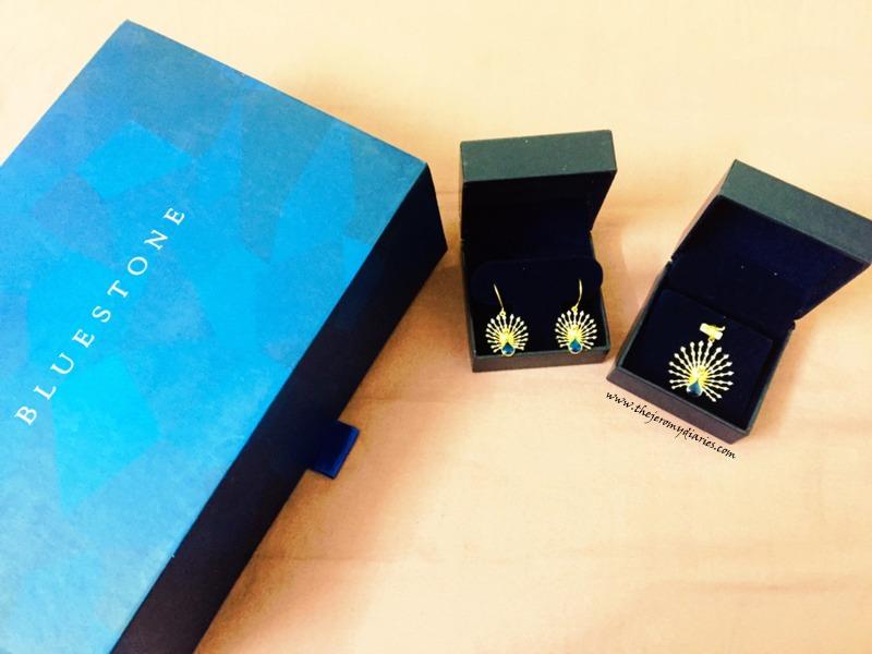 bluestone peacock jewellery