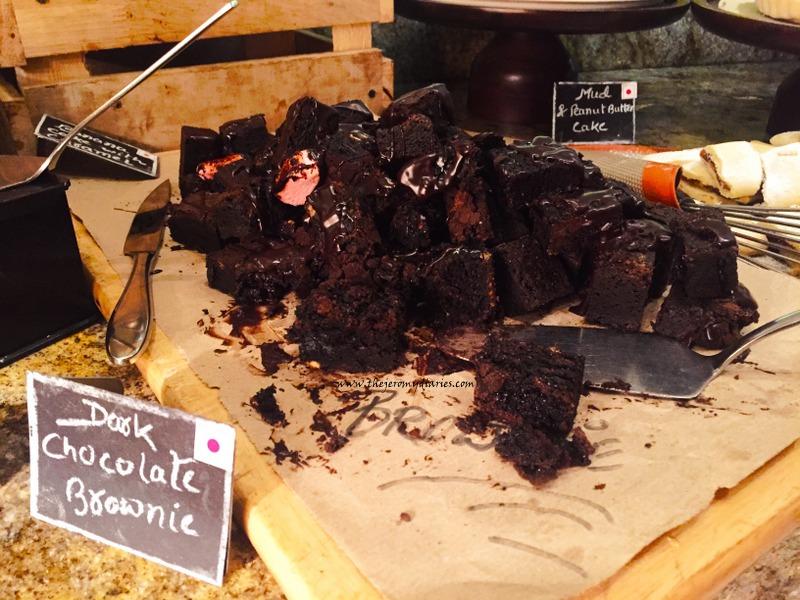 dark chocolate brownie marriott whitefield bengaluru