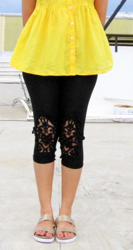 des saints raiment capri best capri in india best stylish leggings in india