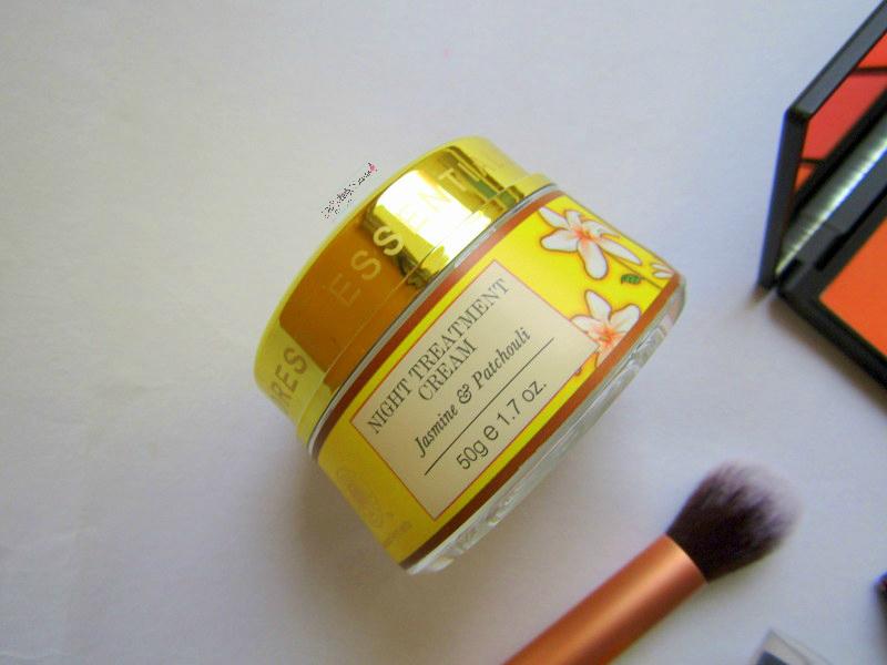 forest essentials jasmine and patchouli night treatment cream