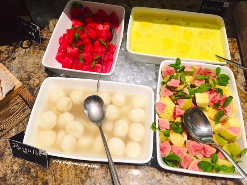 fruits at marriott whiteifeld marriott bengaluru