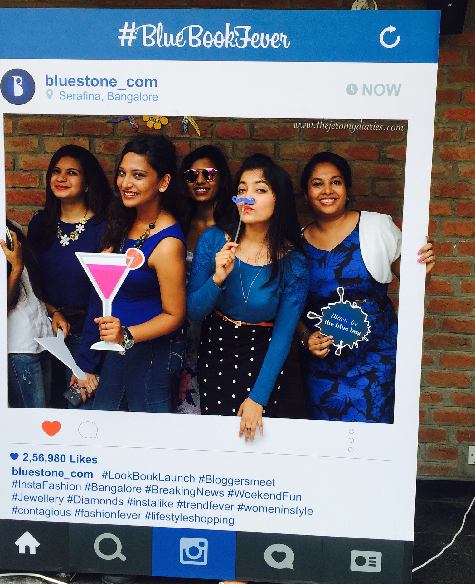 instabooth at bluestone blue book launch