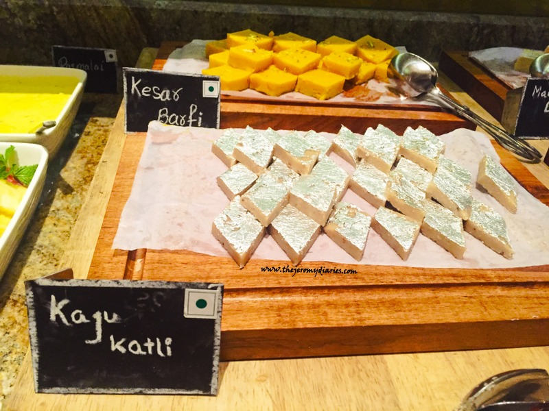 kaju katli marriott whitefield bengaluru the india culinary route 2015