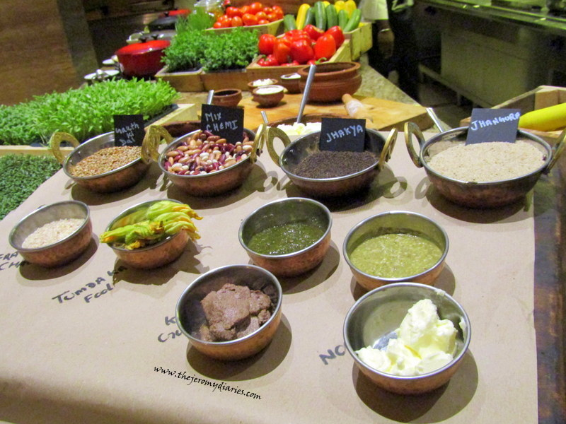 masalas and south indian spices at marriott whitefield bangalore