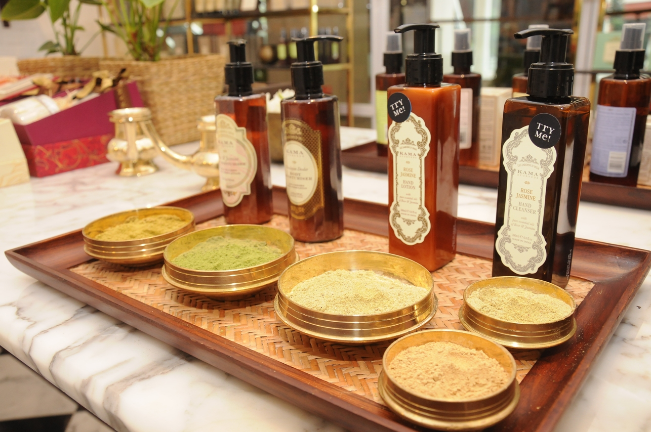 Kama Ayurveda products Kama ayurveda first store launch in bangalore the jeromy diaries beauty blogger