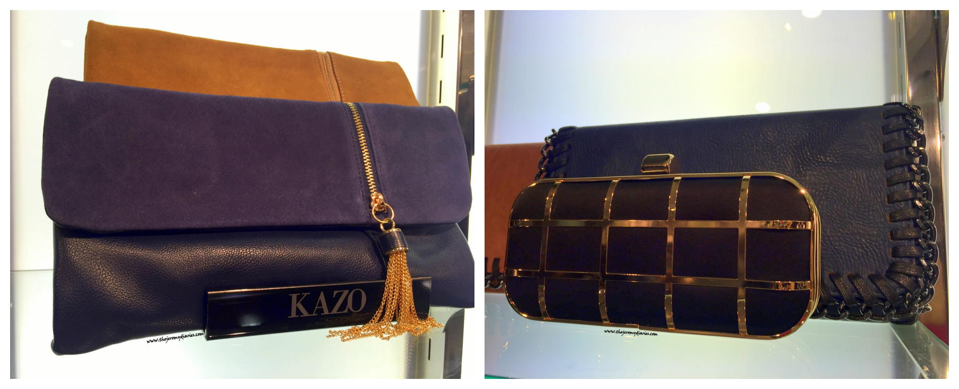 kazo autumn winter 2015 collection clutches and bags the jeromy diaries