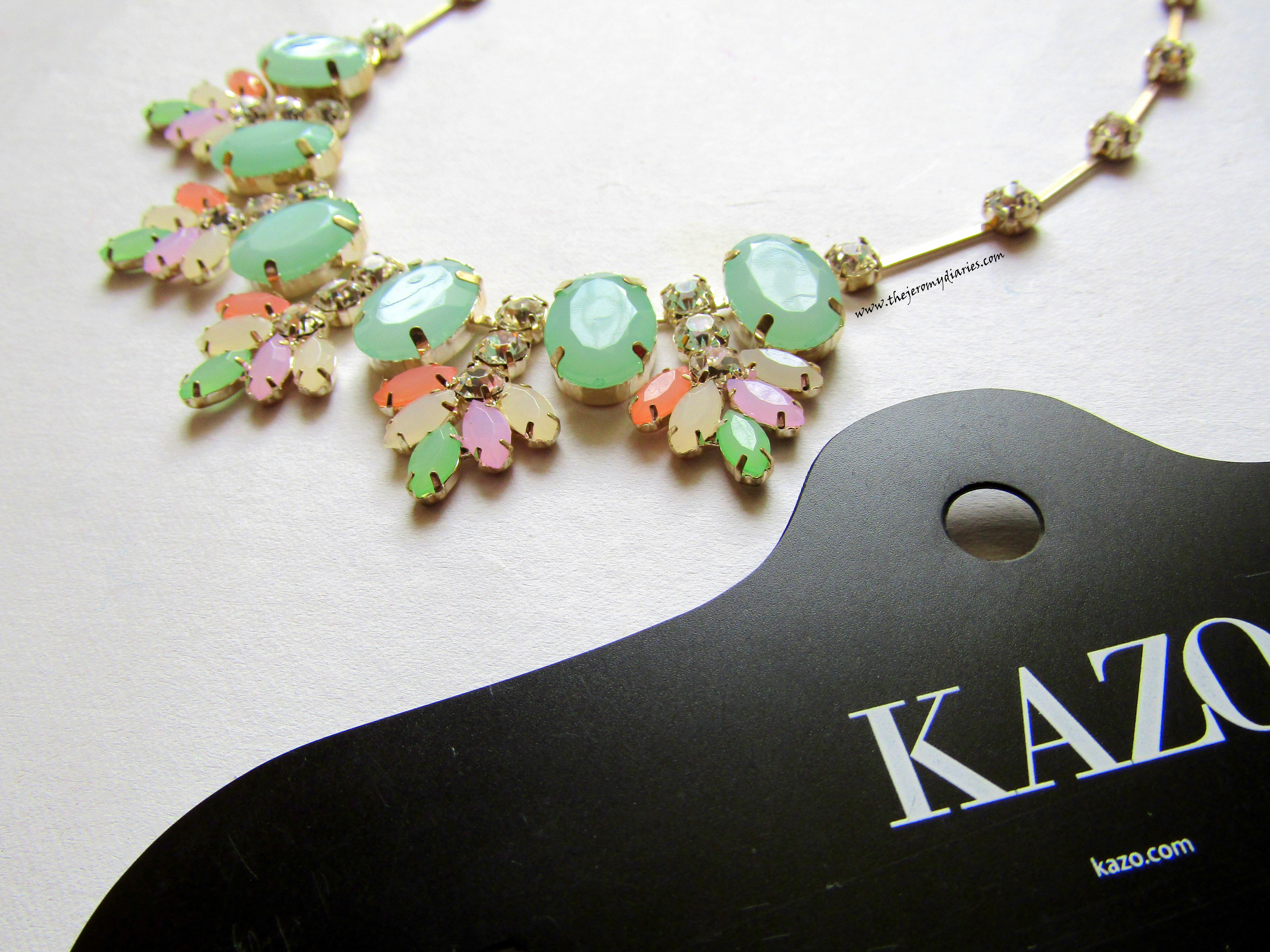 statement neckpieces designer kazo the jeromy diaries