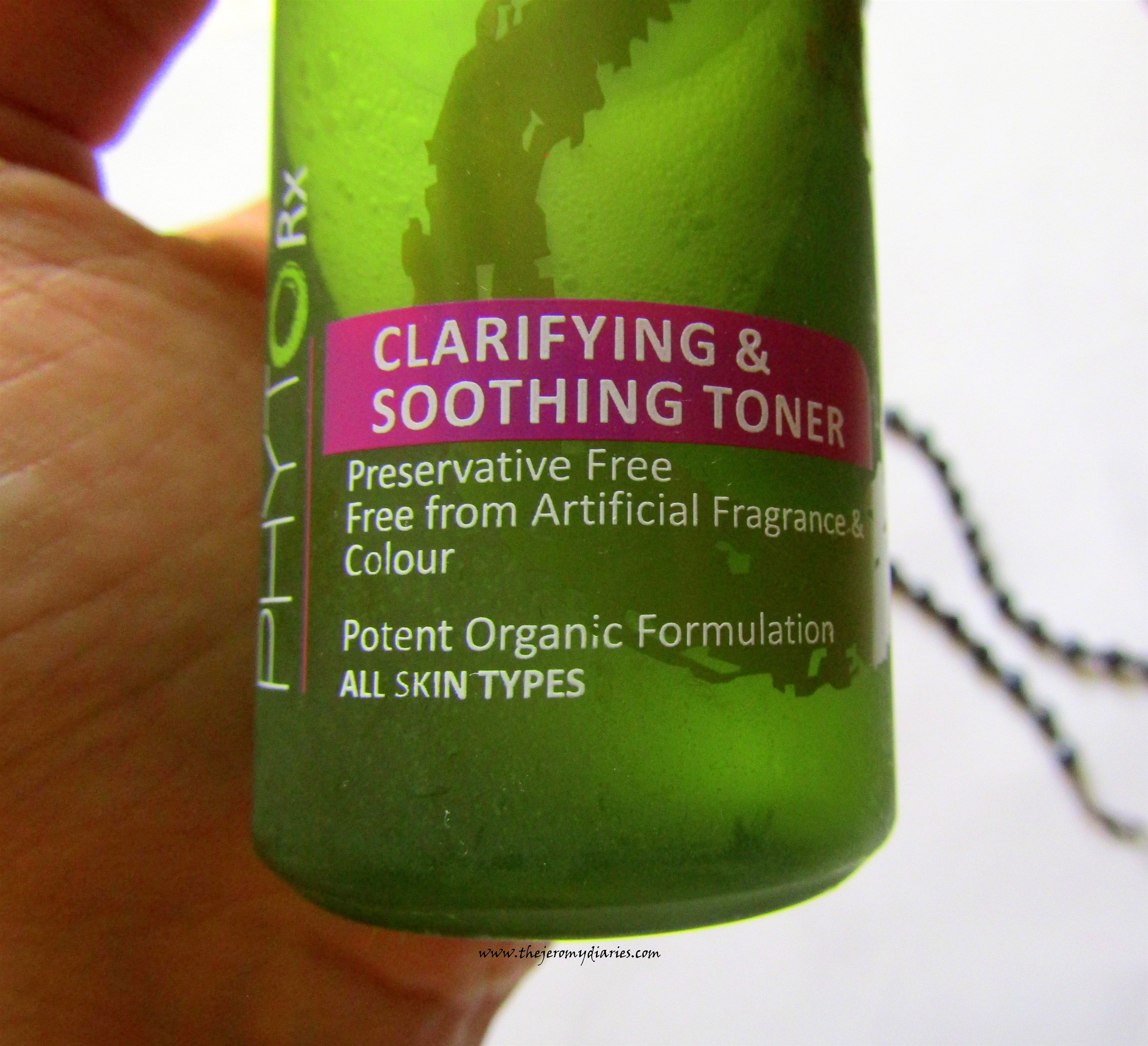lotus herbals professional clarifying and soothing toner review price and availability the jeromy diaries