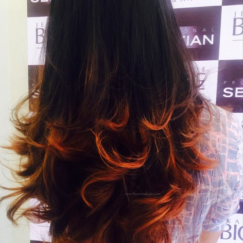 the jeromy diaries wella cut and color experience jean claude biguine india balayage effect