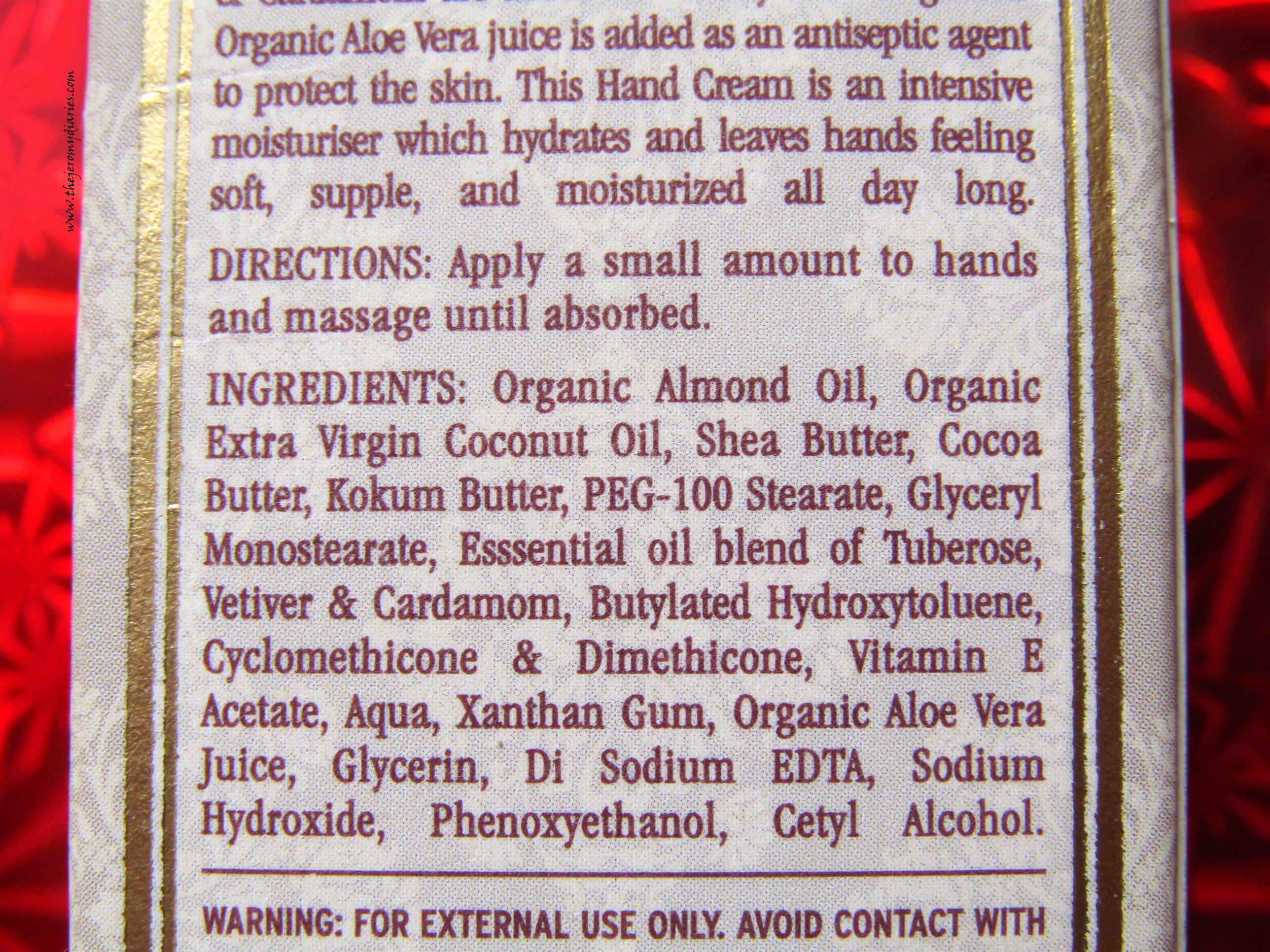 kama ayurveda hand cream ingredients list the jeromy diaries