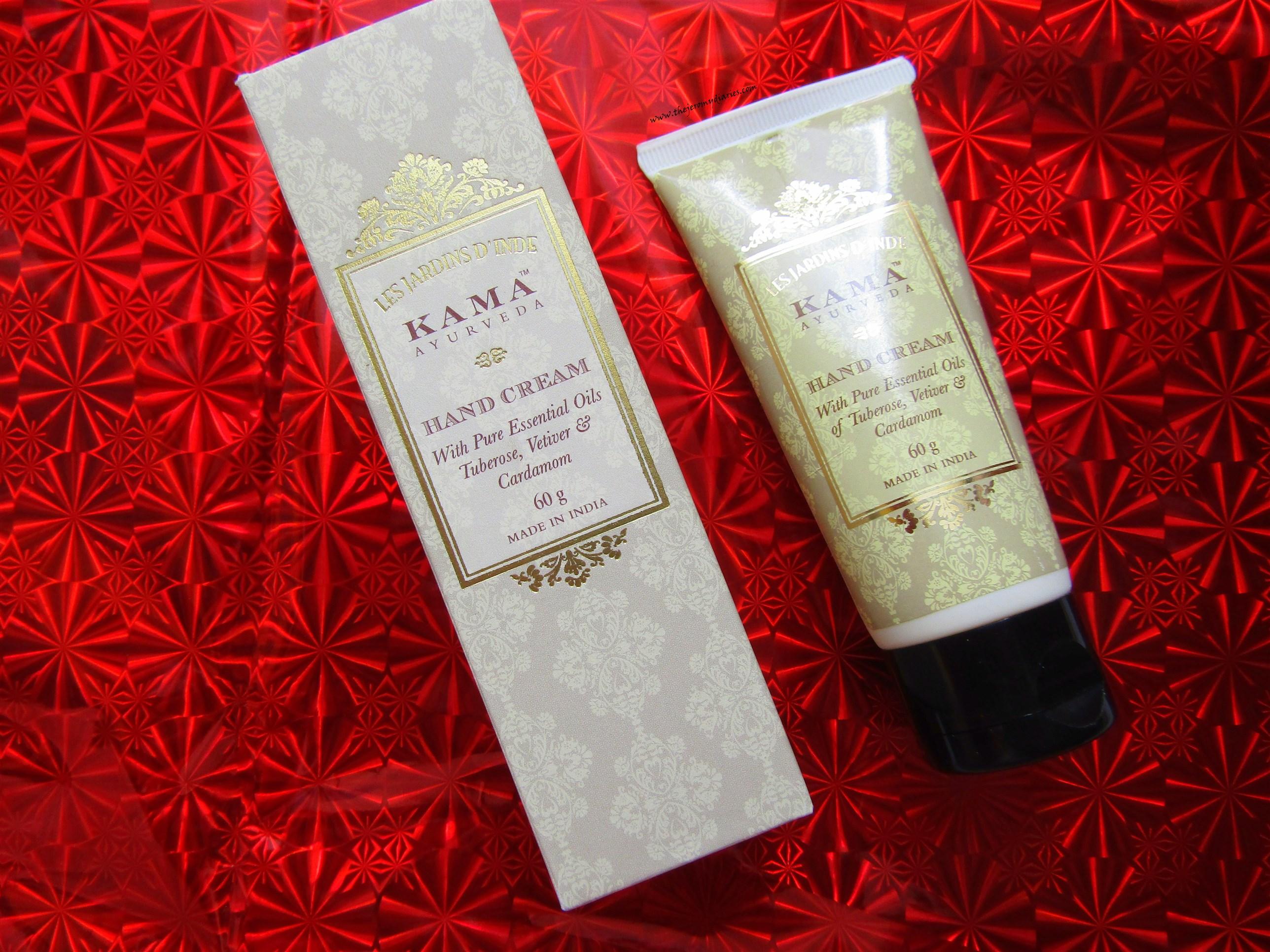 kama ayurveda hand cream packaging the jeromy diaries
