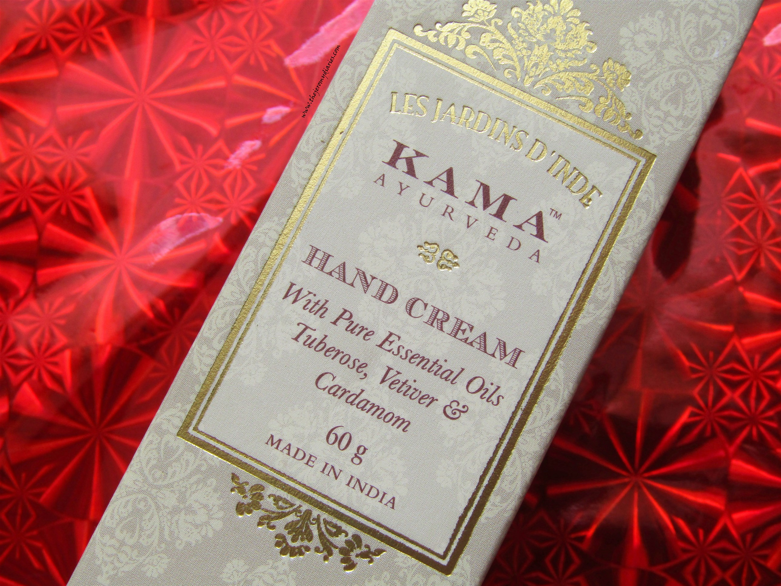 kama ayurveda hand cream with pure essential oils tuberose vetiver and cardamom the jeromy diaries