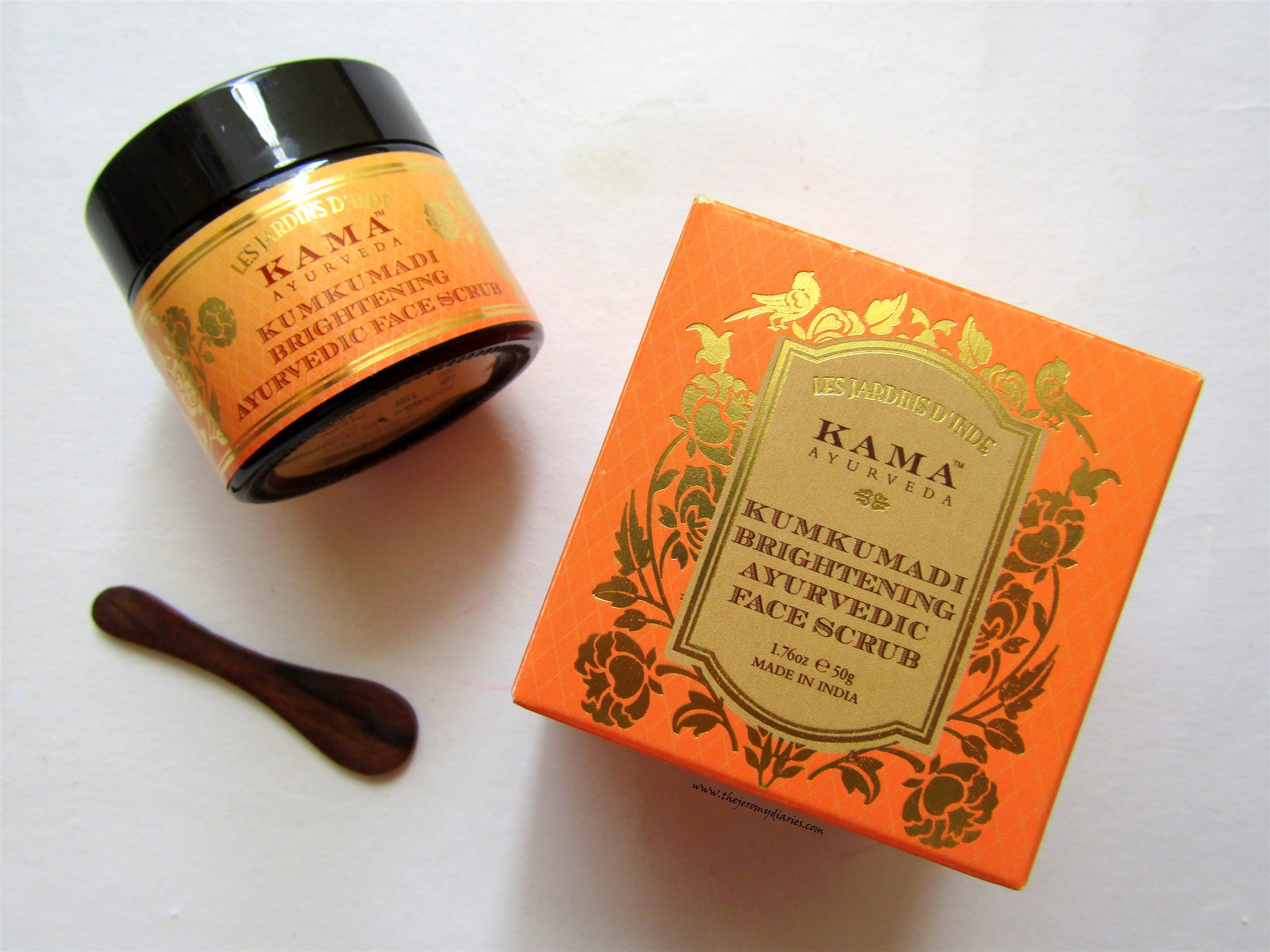 kama ayurveda kumkumadi face scrub review the jeromy diaries