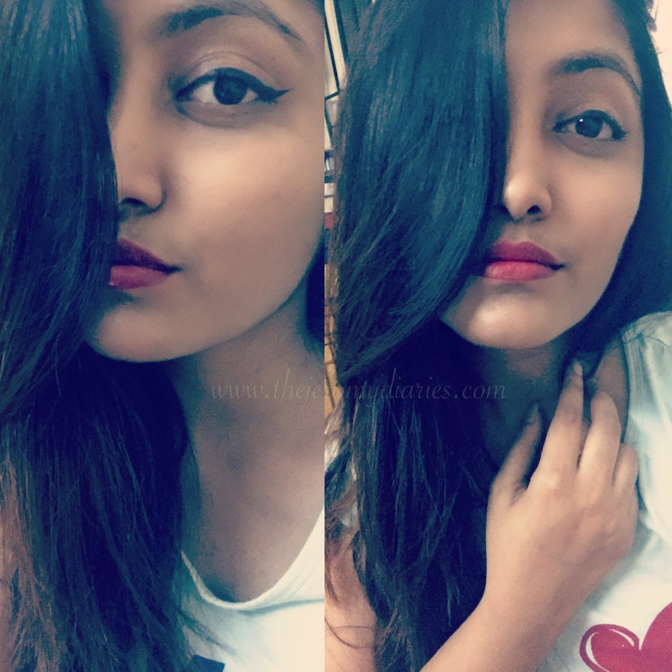 bangalore beauty blogger princy mascarenhas wearing sephora smart liner in black the jeromy diaries (1348 x 1348)