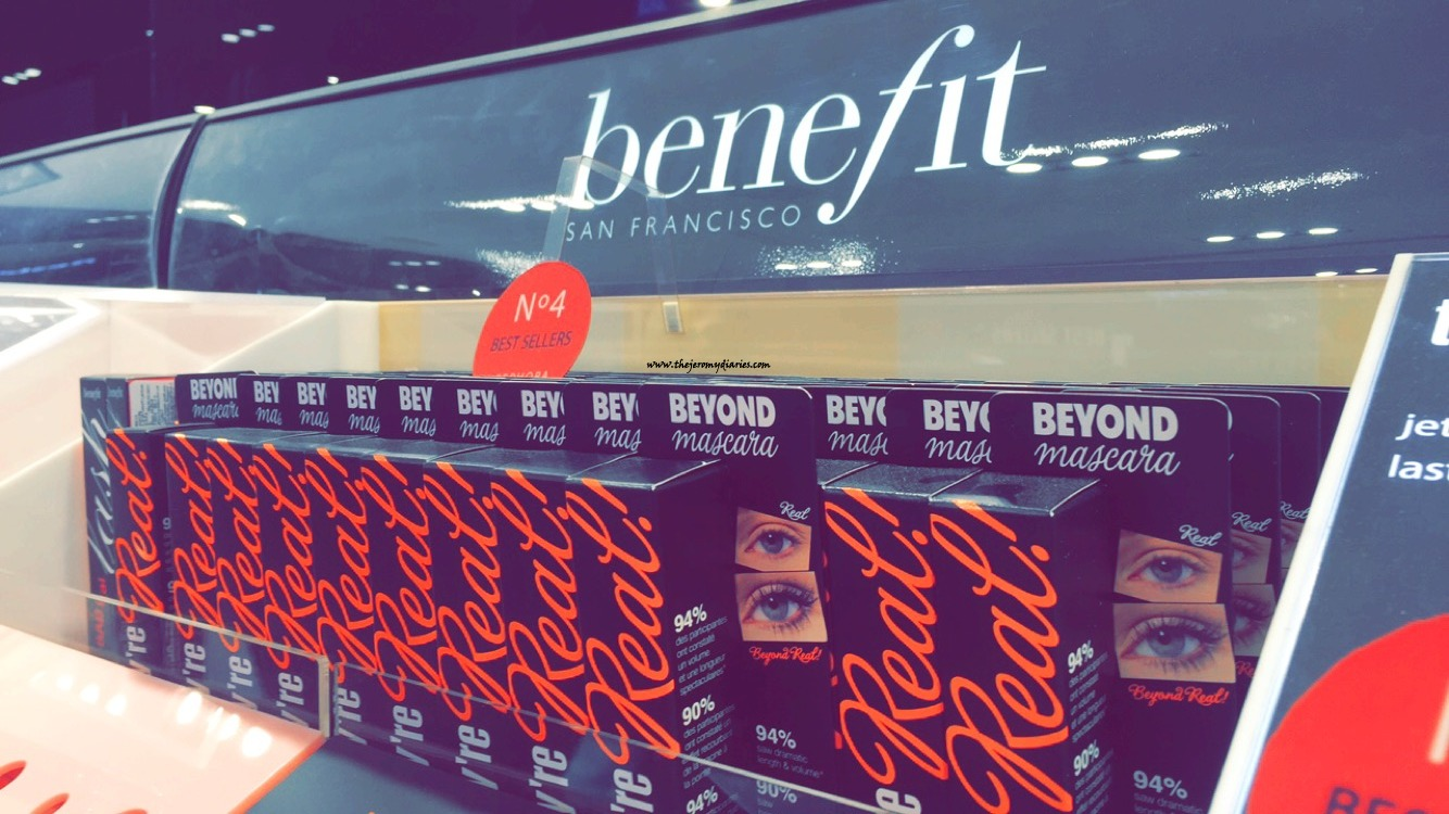 benefit cosmetics they're real mascara the jeromy diaries