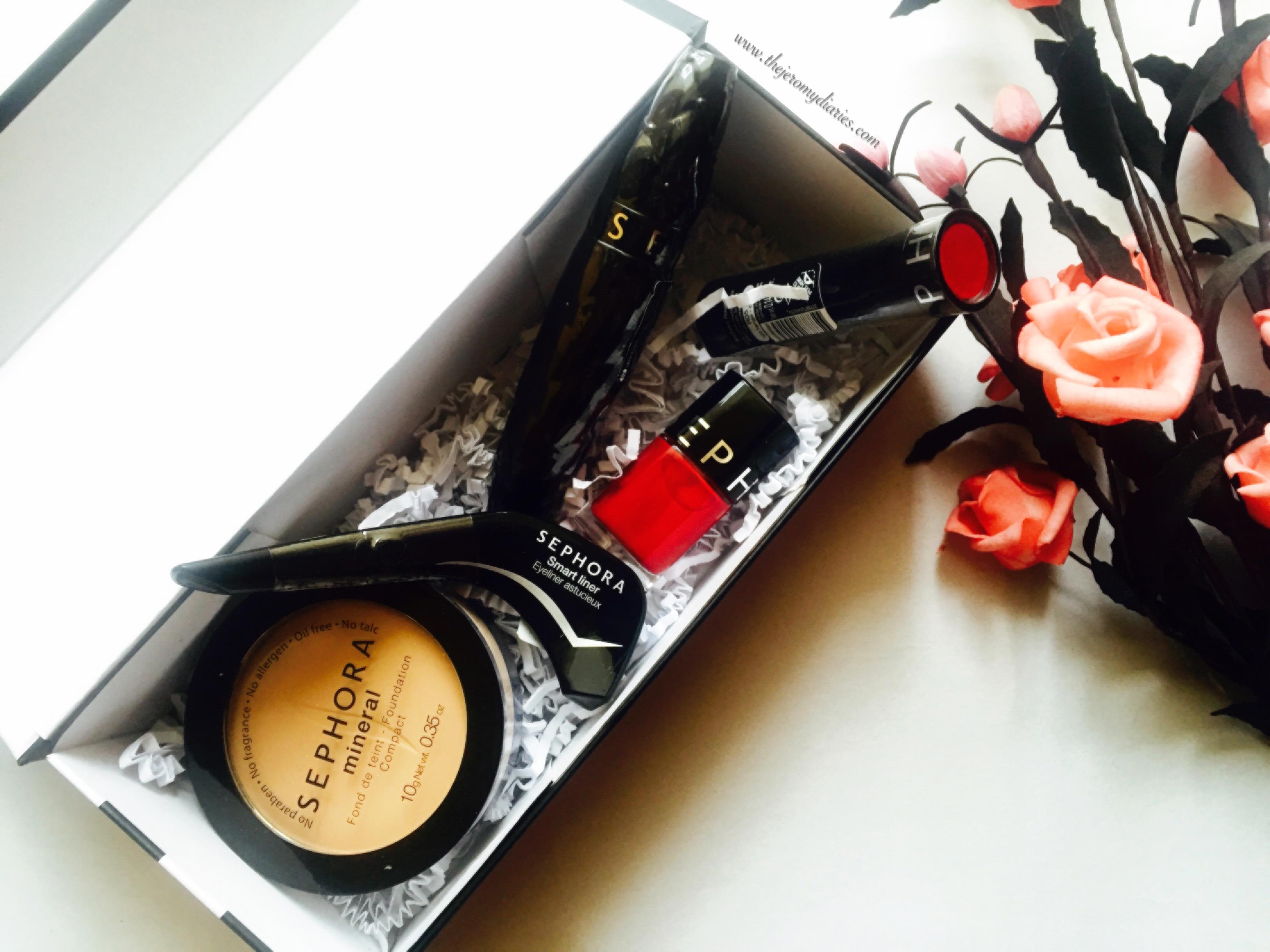 sephora haul the jeromy diaries bangalore beauty blogger (1)